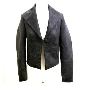 Lost April Sueded Cropped Fitted Jacket